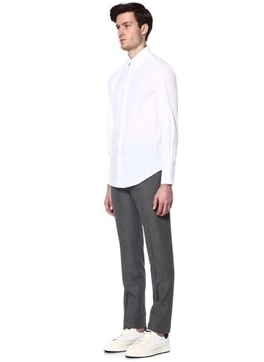 Uzun Kollu Klasik Gömlek-Brunello Cucinelli